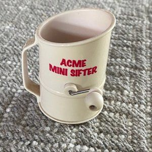 Vintage Acme Mini Sifter Sifter Decoration